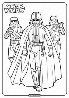 printable wars darth vader coloring pages