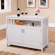 storage furniture for kitchen costway modern kitchen storage cabinet buffet server table