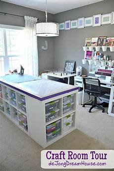 de jong dream house my new improved craft room
