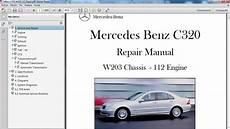 car repair manuals online pdf 2005 mercedes benz slk class windshield wipe control mercedes benz c320 w203 manual de taller workshop re car repair manuals