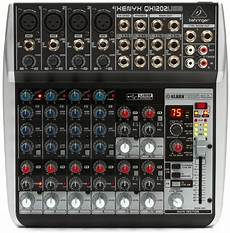 behringer xenyx qx1202usb behringer xenyx qx1202usb mixer with usb and effects sweetwater