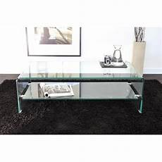 table basse en verre design italien table basse carr 233 e ronde ou rectangulaire au meilleur