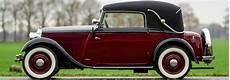 Mercedes 200 W21 Cabriolet 1933 Classicargarage De