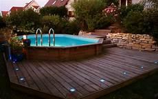 piscine semi enterrée bois prix le prix d une piscine semi enterr 233 e