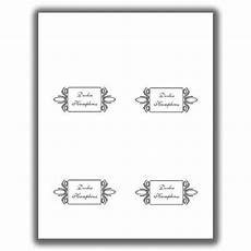 place card template 4