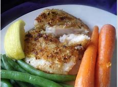 crispy parm  crusted filet of fish_image