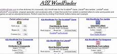 use a2z wordfinder as scrabble dictionary word generator a2z infomatics