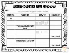place value review worksheets 5258 review second grade place value from learning to be awesome