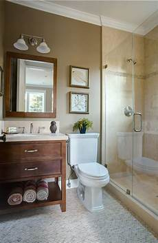 neutral and warm bathroom hue home decorating inspiration