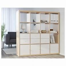 ikea kallax 16 cube storage bookcase square shelving unit