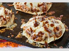 Easy BBQ Chicken Tostadas Recipe   Cupcakes & Kale Chips