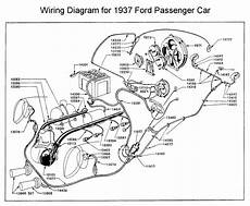 Wiring Diagram For 1937 Ford