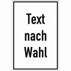 folienschild mit text nach wahl grundfarbe wei 223 schrift