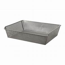 Komplement Metal Basket With Pull Out Rail 75x58 Cm Ikea