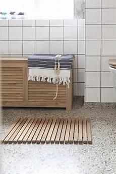 duschmatte holz bath 60 x 40 cm duschmatte teak holz