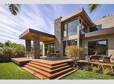 Modern Mediterranean Beach House Plans Exterior Design