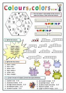 colors worksheets esl 12689 colours colors esl worksheets for distance learning and physical classrooms