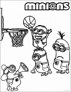 sports coloring pages for toddlers 17712 minion basketball coloring pages sports coloring pages minion coloring pages