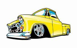 Truck Clipart Low Rider  Pencil And In Color