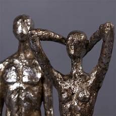 design deko skulpturen set millenium figur frau und