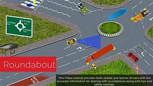 Roundabouts Driving Lessons How To Negotiate Roundabout An