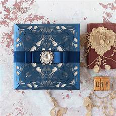 how to make glamorous laser cut invitation with sparkle
