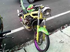 R Modif Jari Jari by Modifikasi Kawasaki R Warna Hijau Modif R
