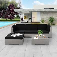 salon de jardin en beton canap 233 salon de jardin en b 233 ton l 225 cm