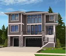 front sloping lot house plans plan 85102ms modern house plan for front sloping lot