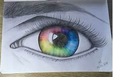 Bilder Zum Nachmalen Augen Rainbow Eye Rainbow Auge Zeichnen Zeichnung Bleistift