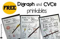 free digraph and cvce printables the kindergarten connection