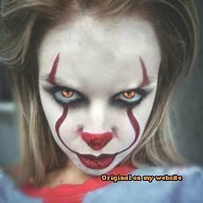 Clown Schminke Mann It Pennywise The Clown Makeup Clown