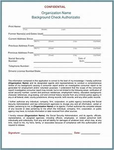 background check authorization form template free background check authorization consent forms pdf word