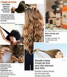 Pousse De Cheveux Avec Huile De Ricin Coupe Cheveux Degrade