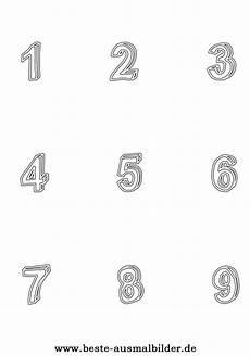 Malvorlagen Zahlen Gratis Zahlen Ausdrucken Gratis