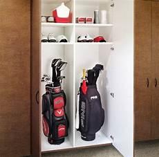 Garage Storage Ideas For Golf Clubs by Golf Club Storage Ideas Shapeyourminds