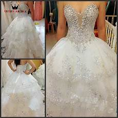 Wedding Gowns With Diamonds