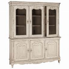 buffet vaisselier 3 portes vitr 233 es beige interior s