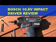 tool review bosch gdr 10 8v ec impact driver