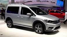 Volkswagen Caddy Alltrack At Iaa 2015