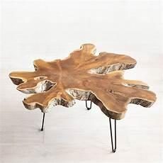 Teak Wurzel Tisch - teak root coffee table teak furniture uncommongoods