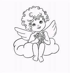Einfache Malvorlage Engel Ziemlich Bilder Der Engel Vorlagen Zum Ausdrucken