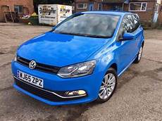 2015 Volkswagen Polo Blue 1 2 Tsi Engine 1 Year Mot Cat D