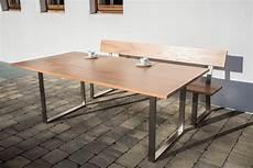 gartentisch und stühle gartentisch aus altholz edelholz und obstholz f 252 r terrasse
