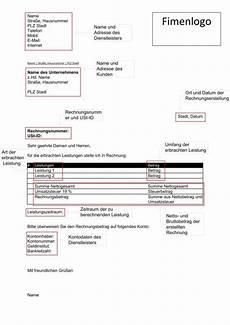 19 vorlage rechnung privat rigarda
