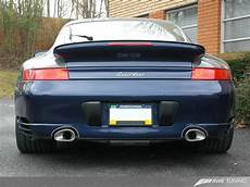 awe tuning performance exhaust system 996 turbo flat 6