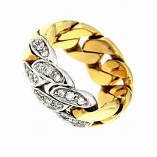 anelli simili pomellato pomellato anello due ori 750 1000 fascia morbida con 0