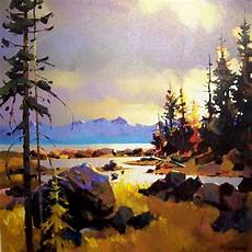 michael o toole art watercolor landscape pinterest artworks columbia and