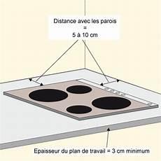 epaisseur plaque induction installer une plaque 224 induction ooreka