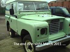 Land Rover Series 3 Restoration